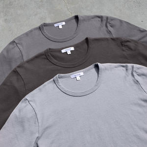 Long Sleeve Heavyweight T-Shirt 3 Pack (Gunmetal, Dark Grey, Light Grey)