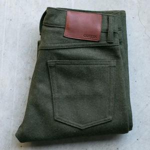 #67 Big Wool 5 Pocket - Olive