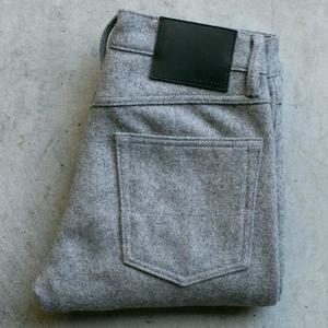 #66 Big Wool 5 Pocket - Heather Grey
