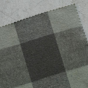 #801 Super Heavy Buffalo Flannel - MossXTaupe