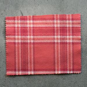 #806 Retro Melange Flannel - Brick Red