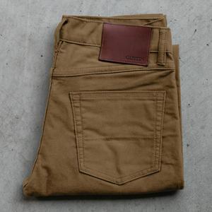 #72 Moleskin Stretch 5 Pocket - Gold Khaki