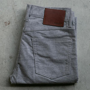#71 Moleskin Stretch 5 Pocket - Heather Grey