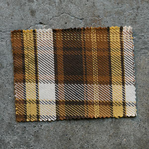 #813 Japan Rustic Twill - MustardXBrown