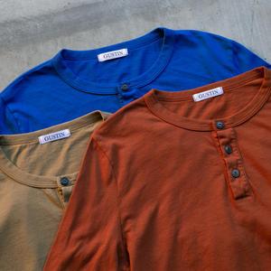 Henley 3Pk (Burnt Orange, Gold Khaki, Royal)