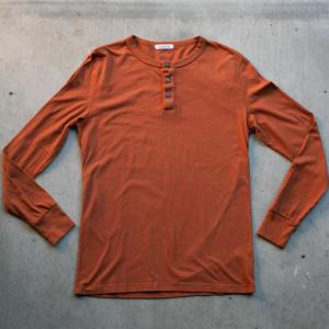Henley - Burnt Orange
