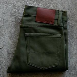 #79 Military Whipcord 5 Pocket - Olive