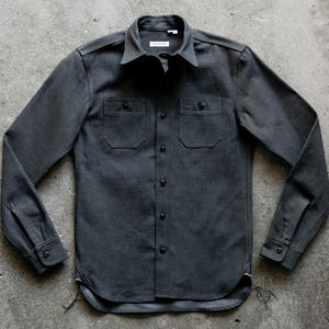 #72 Gunmetal Selvedge Workshirt