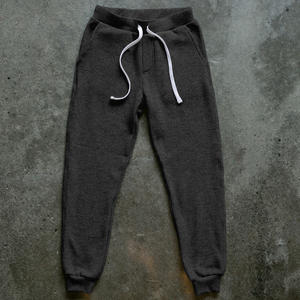 Twisted Yarn Fleece Sweatpants - Charcoal