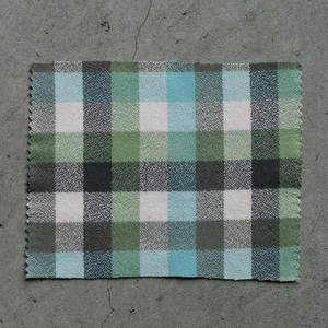 #825 Organic Retro Checks - Seaglass