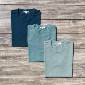 Heavyweight T-Shirt 3 Pack Ocean Collection (Deep Blue, Seagreen, Green Mist)