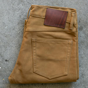 #87 Japan Heavy Moleskin 5 Pocket - Gold Camel
