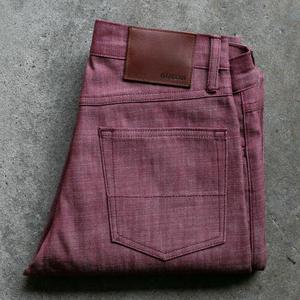 #94 Cone Mills Oxblood 5 Pocket