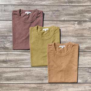 Heavyweight T-Shirt 3 Pack Rust Collection (Red Rust, Orange Rust, Yellow Rust)