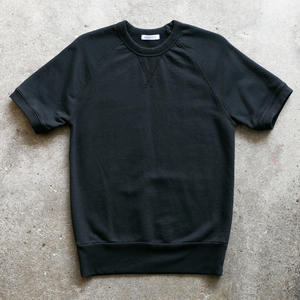 Short Sleeve Sweatshirt - Black