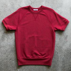 Short Sleeve Sweatshirt - Red