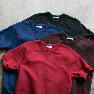 Short Sleeve Sweatshirt 4 Pack (Oxblood, Black, Royal, Red)