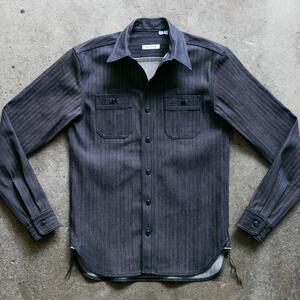 #85 Japan Selvedge Herringbone Workshirt