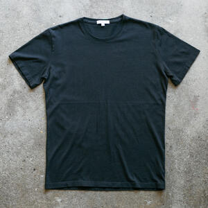 Pima Cotton T-Shirt 2 Pack (Black)