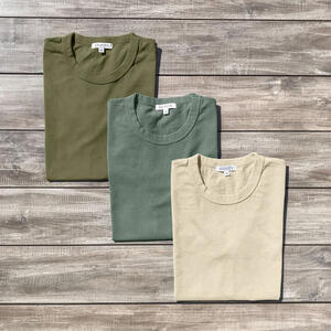 Heavyweight T-Shirt Earth Pack (Seaweed, Eucalyptus, Sand)