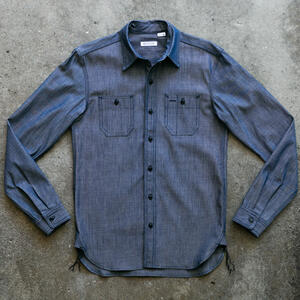 #87 Cone Indigo Chambray Workshirt