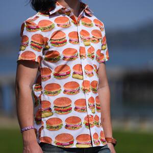 #836 Big Burgers Short Sleeve Shirt
