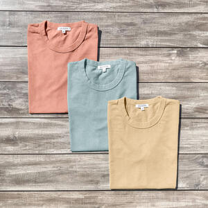 Heavyweight T-Shirt 1950's Pack (Peach, Aqua, Lemon)
