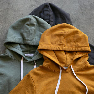 French Terry Pullover 3 Pack (Saffron, Olive Drab, Charcoal)