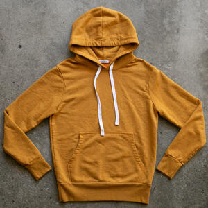 Saffron French Terry Pullover