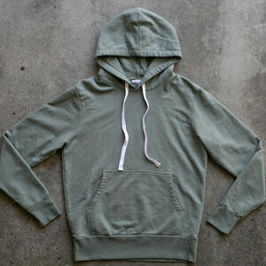 Olive Drab French Terry Pullover
