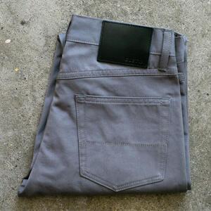 #117 Organic Titanium Twill 5 Pocket