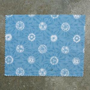 #842 Japan Shibori Starburst - Blue