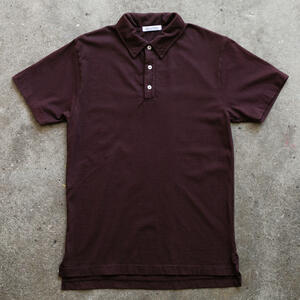 Classic Jersey Polo - Oxblood