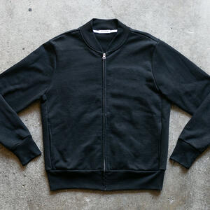 French Terry Bomber - Black