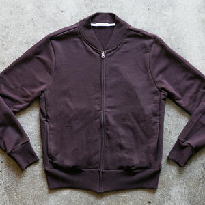 French Terry Bomber - Oxblood