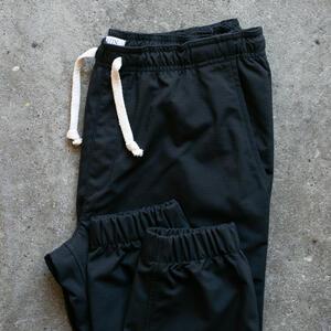 Stretch Ripstop Joggers - Black