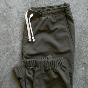 Stretch Ripstop Joggers - Olive