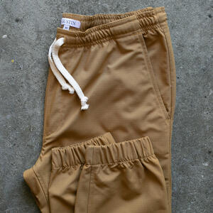 Stretch Ripstop Joggers - Camel