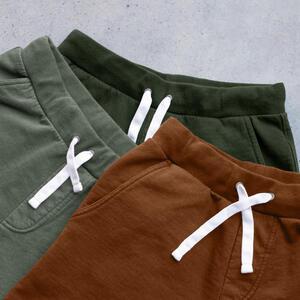 Sweatshorts 3 Pack (Burnt Orange, Green-Grey, Hunter)