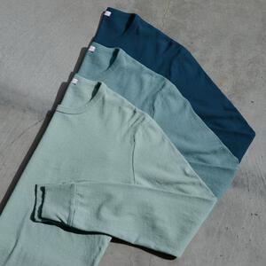 Long Sleeve Heavyweight T-Shirt 3 Pack Ocean Collection