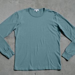 Long Sleeve Heavyweight T-Shirt 2 Pack (Seagreen)