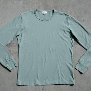 Long Sleeve Heavyweight T-Shirt 2 Pack (Green Mist)