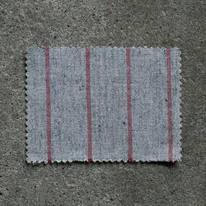 #856 Vintage Baseball Stripe - GreyxRed
