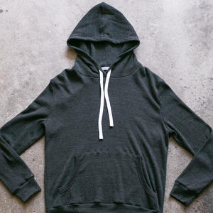 Waffle Pullover - Charcoal