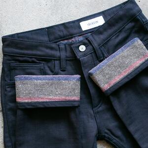#135 IndigoXSaddle Blanket 5 Pocket